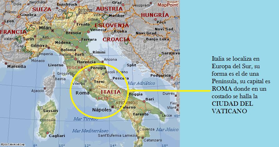 Viaje por europa ciudad del vaticano ubicaci n geograf ca for Donde se encuentra el marmol