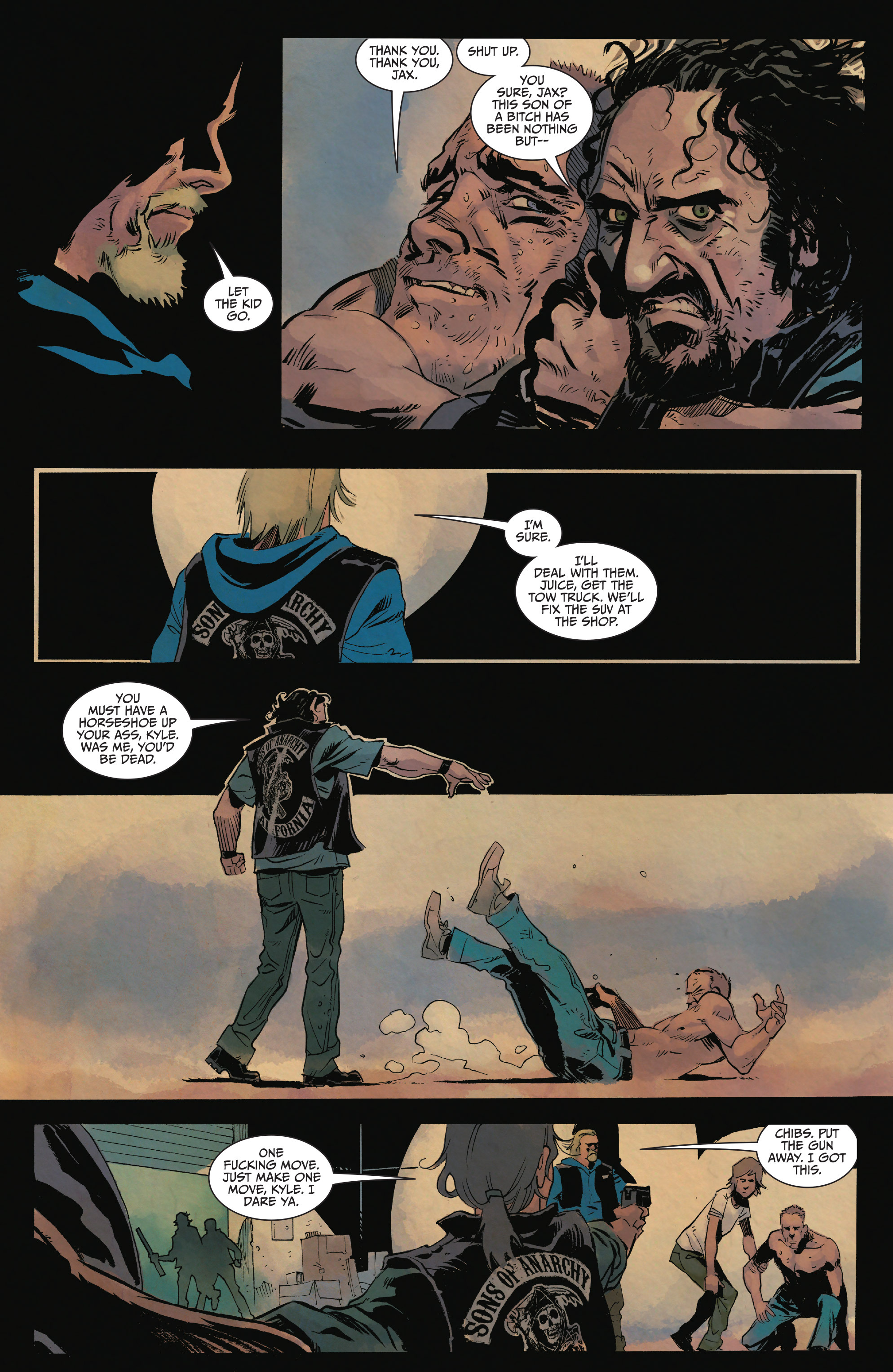 Read online Sons of Anarchy comic -  Issue #15 - 19