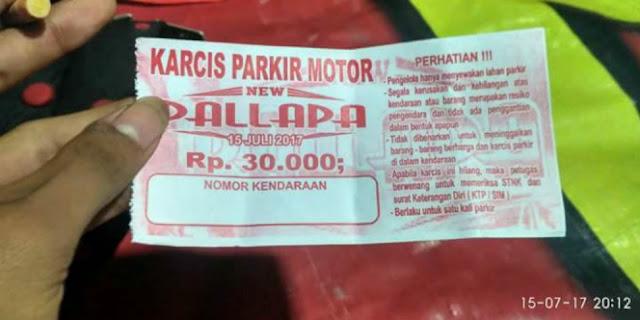 Heboh Tarif Parkir `Selangit` di Konser Dangdut