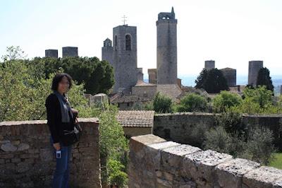 Skyline of San Gimignano