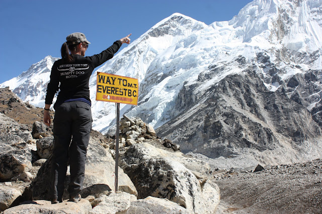 Why we want to go for Everest base camp trek,  Because the mountain is here.