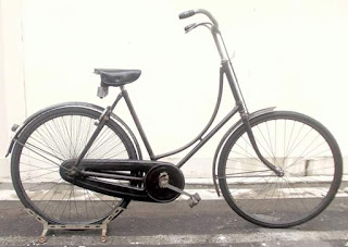 Jual Sepeda Tua Merk Gazelle Seri 4.