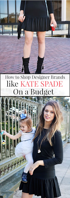 how to get designer clothes and purses for cheap, bargain shopping, kate spade