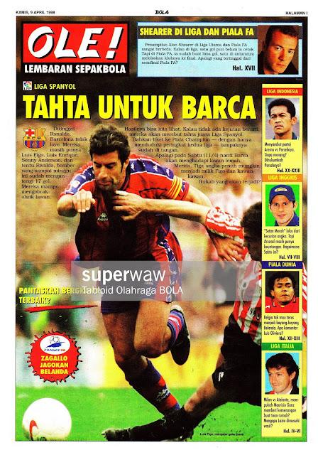 LUIS FIGO BARCELONA 1998