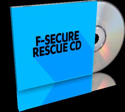 F-Secure Rescue CD 3.16 Build 73600 | Disco de rescate, para limpiar y reparar sistemas dañados por virus