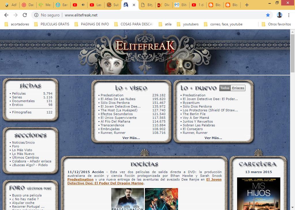 Las 5 mejores paginas para descargar PELÍCULAS vía utorrents ~ OrlandoMVL16