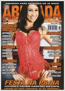 Download Revista Abusada Mônica Mattos Agosto 2011