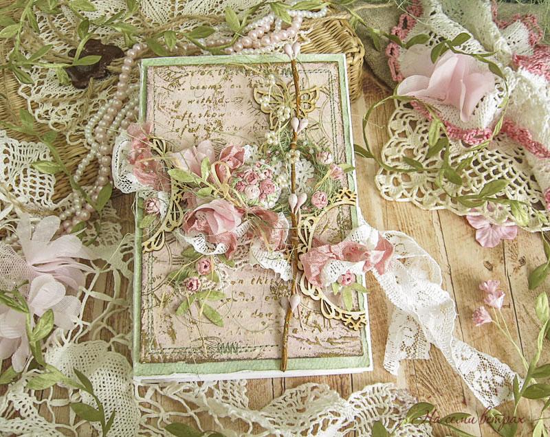 Коробочка-книга Букет невесты