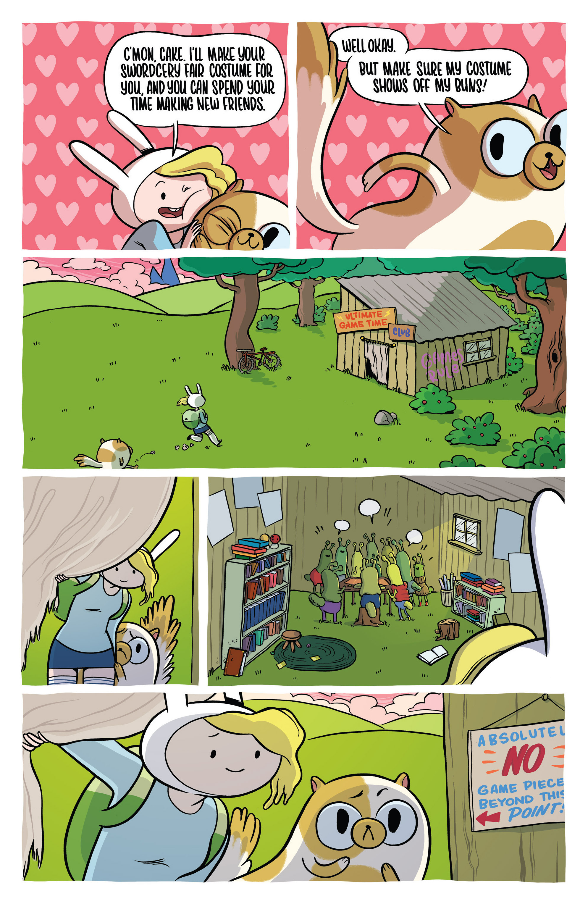 Read online Adventure Time Fionna and Cake Card Wars comic -  Issue #1 - 12