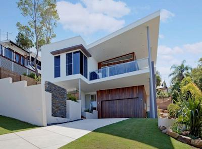 Kumpulan Bentuk Fasad Rumah Minimalis Terbaru 2016 - 013