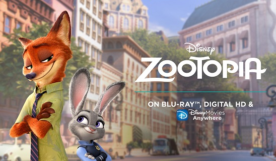 Zootopia 2016 Hindi Dual Audio 720p & 480p Bluray Movie Download