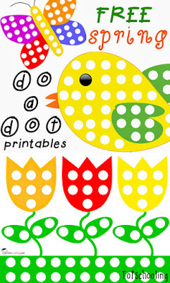 This is a photo of Revered Free Do a Dot Printables