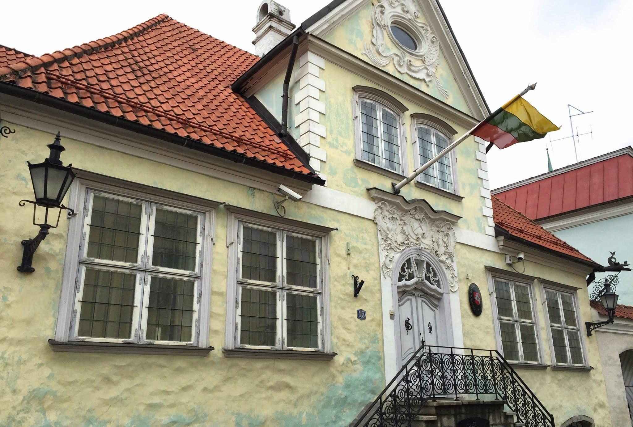 Lietuvos ambasada Estijoje pastatas Uus gatvėje