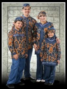 Model Baju Batik Terbaru Idul Fitri 2017