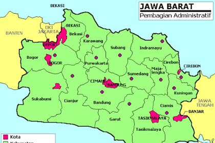 Daftar Kabupaten dan Kota Termaju di Jawa Barat