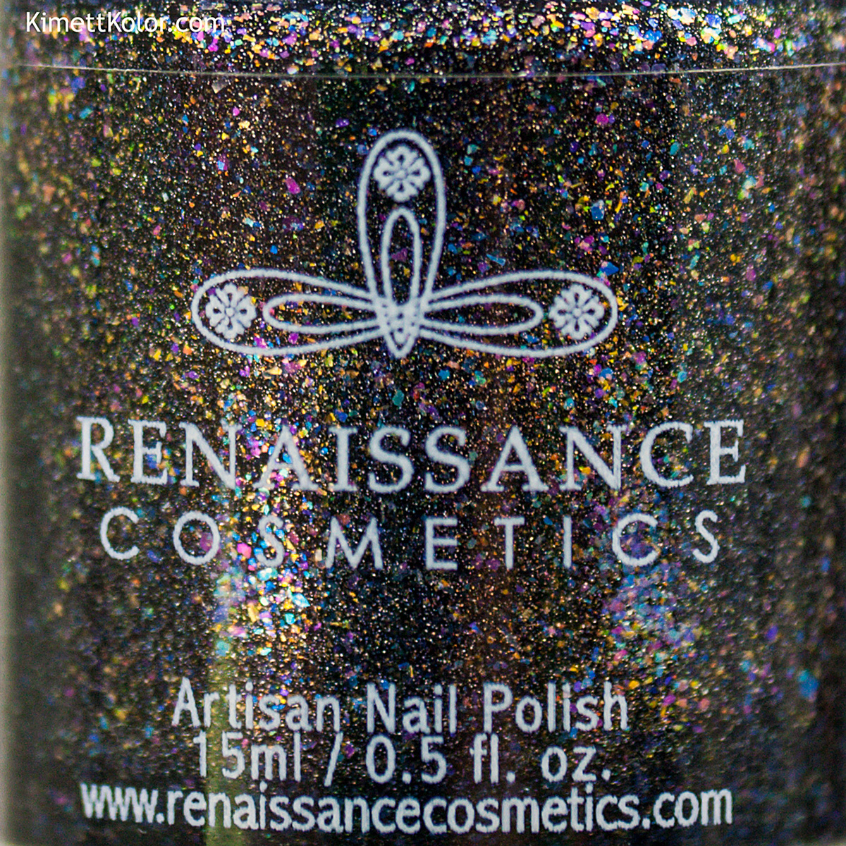 Kimett Kolor Polish Swatch Out of the Darkness Renaissance Cosmetics