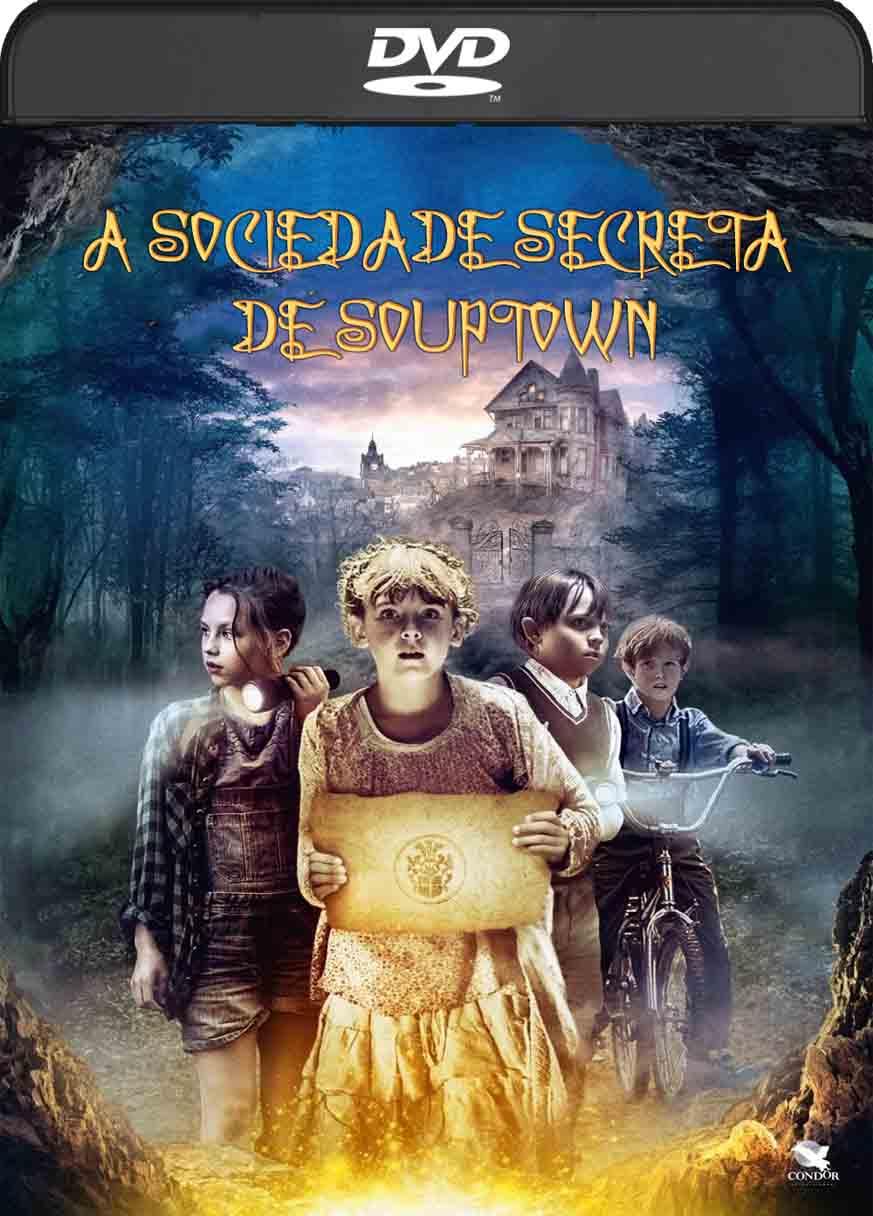 A Sociedade Secreta de Souptown (2017) DVD-R Autorado Dual Audio