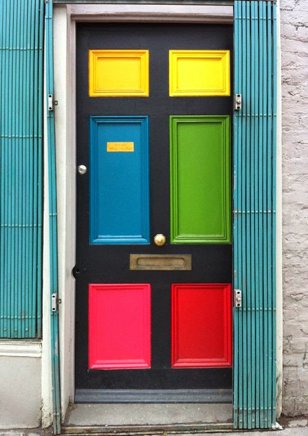 ciao! newport beach: color for your front door