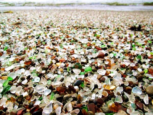 Coup de coeur : Glass Beach, la plage de verre - Fort Bragg - Parc ...