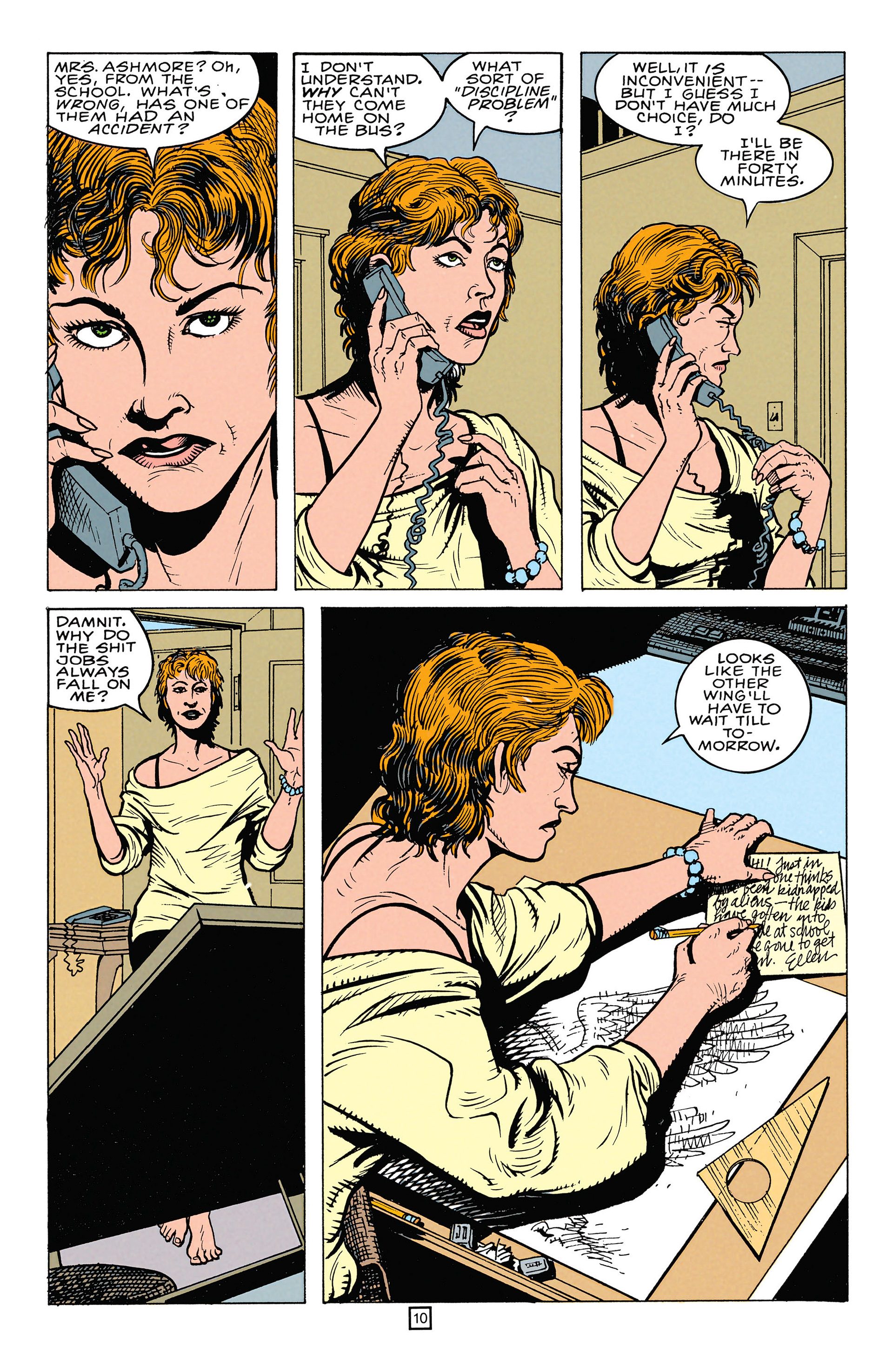 Read online Animal Man (1988) comic -  Issue #64 - 11