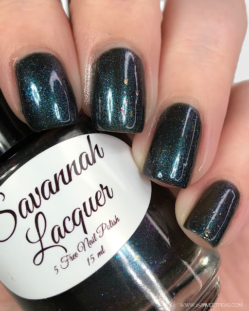 Savannah Lacquer You Goat Sucking Chupacabra!
