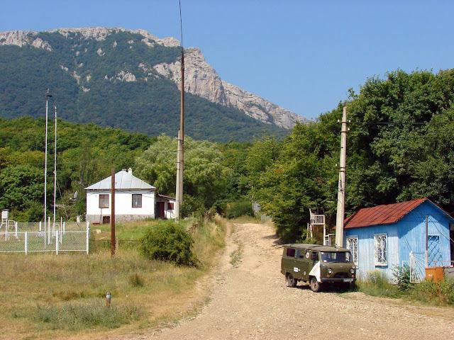 Турбаза Ангарский перевал. Гора Ангар-Бурун. Дорога на Чатырдаг
