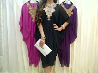 Minidres Kaftan Sifon fit to XL