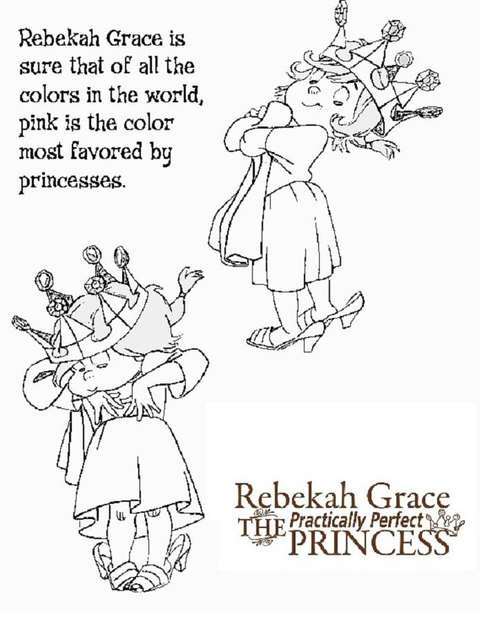 Rebekah grace games for Grace coloring page