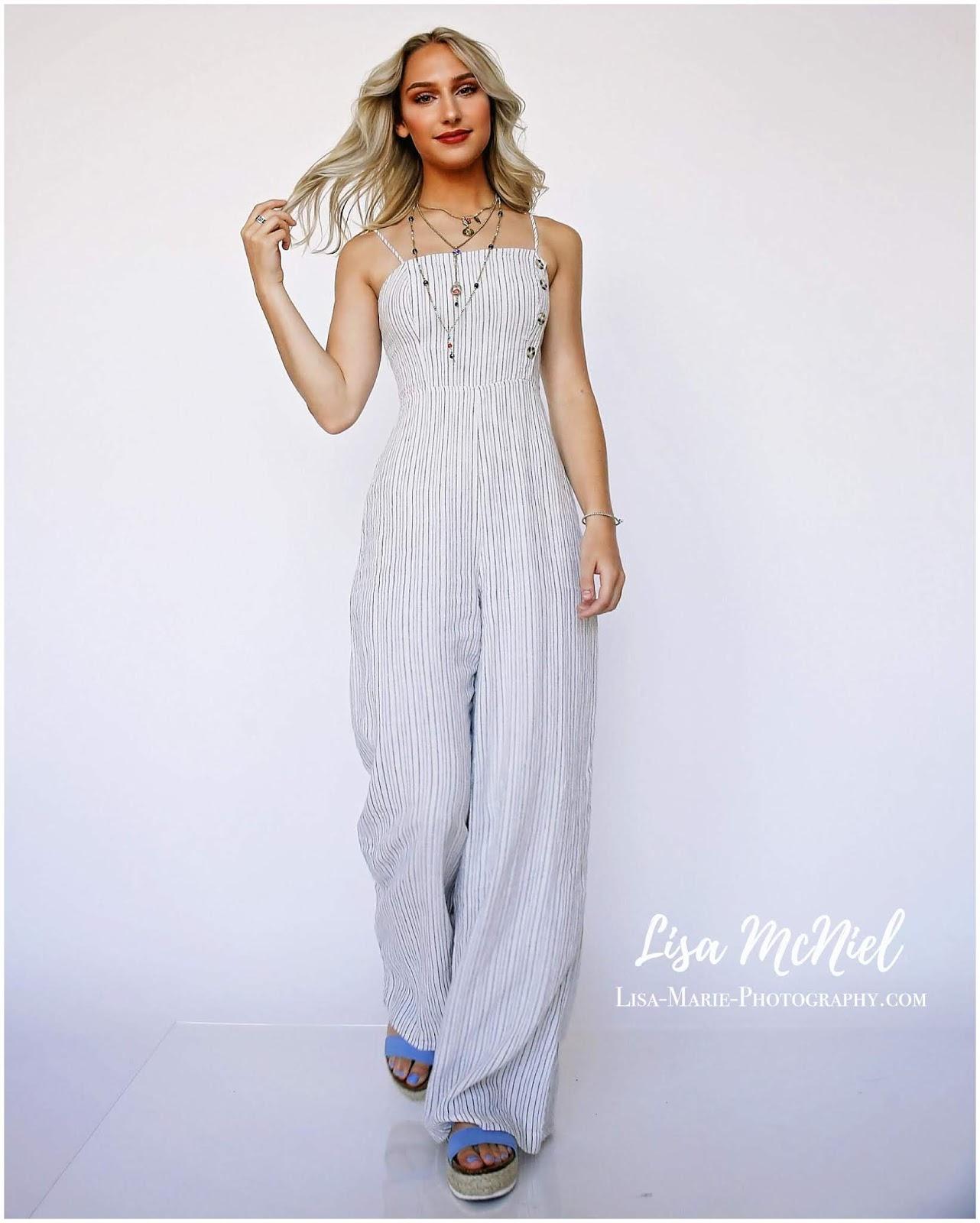 fashion shot of girl on white background