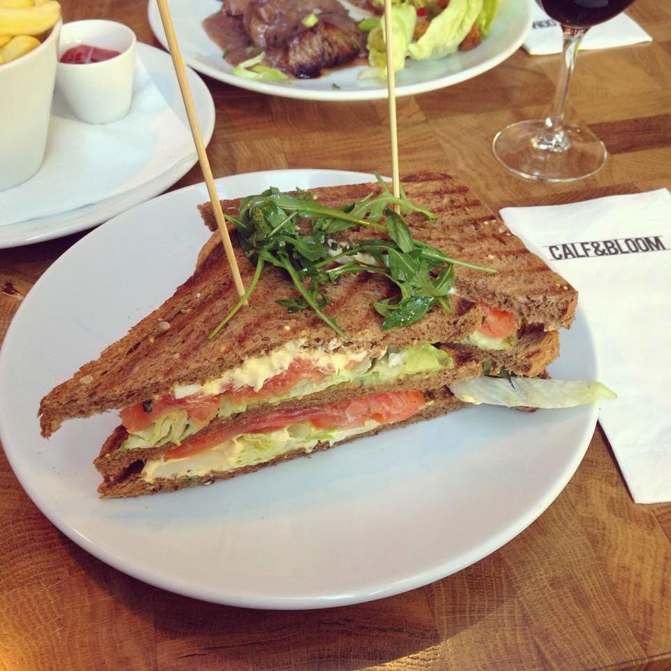 Club sandwich saumon Calf & Bloom