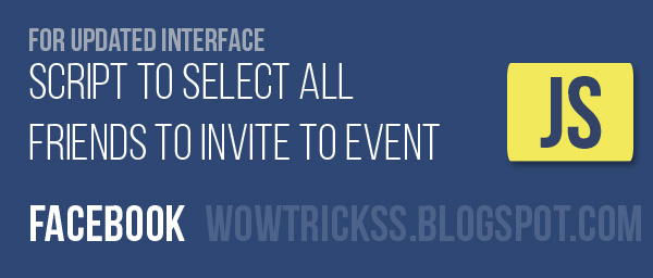 How To Select All Friends To Invite To Event On Facebook January