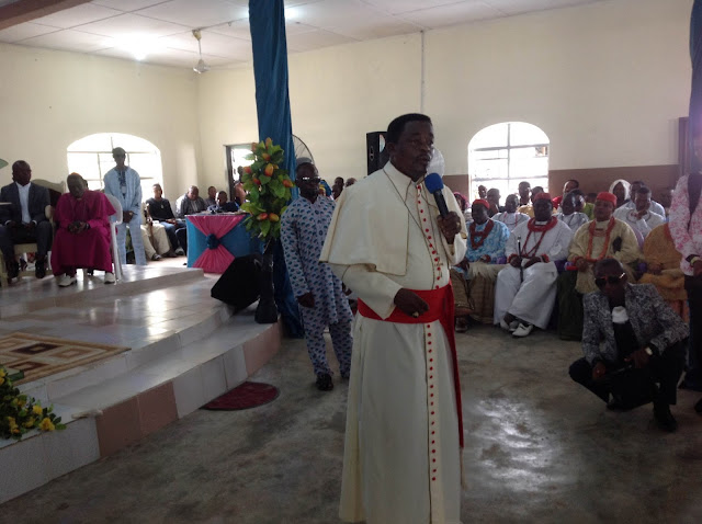 Image result for Archbishop Goddowell Avwomakpa,