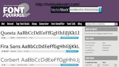 Daftar situs penyedia font gratis2