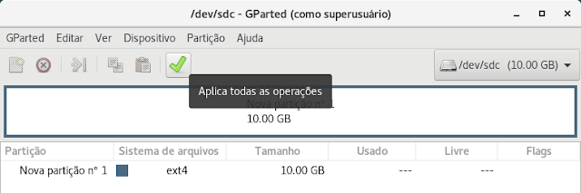 Ferramentas Linux 2 - GParted, Particionador Gráfico - Dicas Linux e Windows