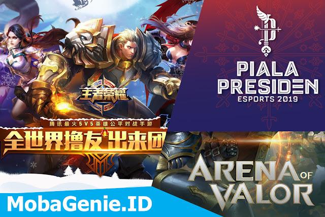Wang Zhe Rong Yao, Arena Of Valor, Mobile Legends dan Perkembangan eSports di Indonesia