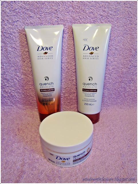 szampon, odżywka i maska do włosów kręconych i falowanych