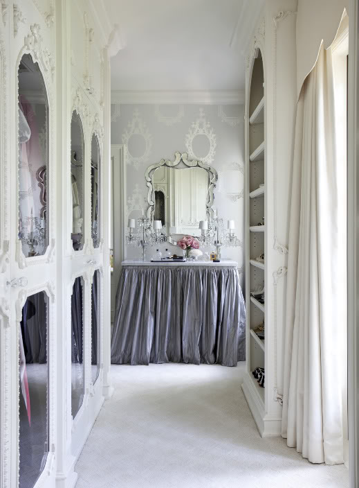The Snowdrop Project: Fantasy Dressing Rooms