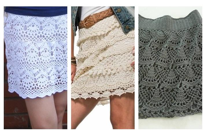 Ideas para el hogar: Minifaldas en crochet