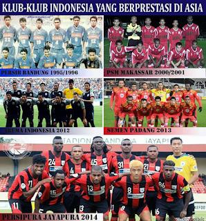 Klub-Klub Indonesia Yang Berprestasi Di Kancah Asia