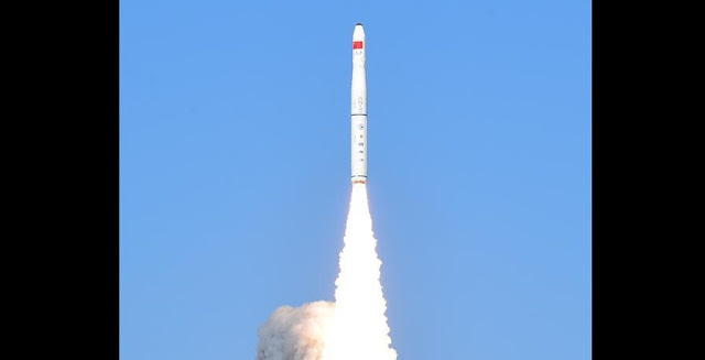 Long March 11 launch on January 21, 2019. Credit: Xinhua/Wang Jiangbo