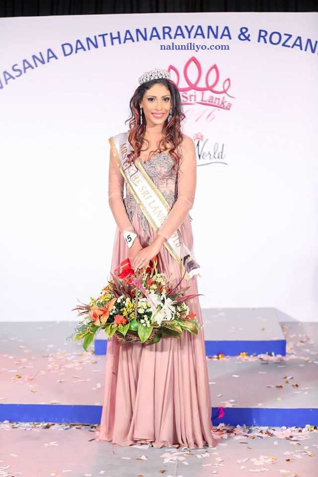 Mrs. Sri Lanka for Mrs. Globe 2016 Himali Gunasekera