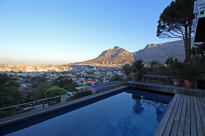 Kapstadt Apartement Blick auf den Tafelberg
