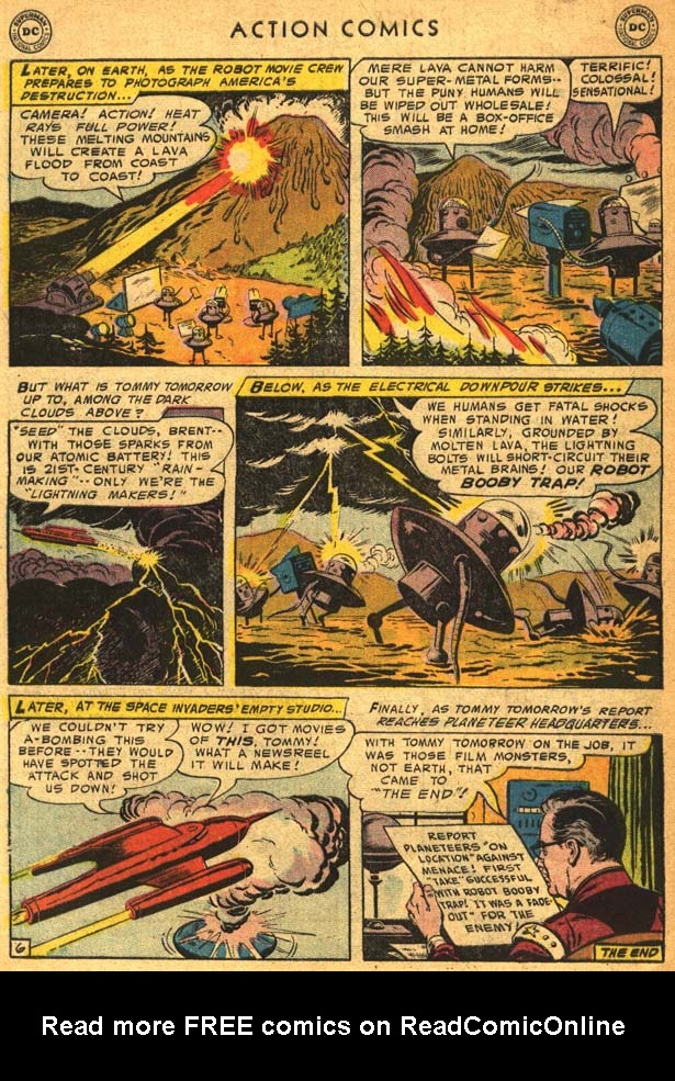 Read online Action Comics (1938) comic -  Issue #210 - 34