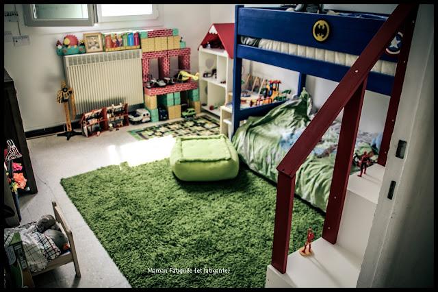 chambre  enfant super heros