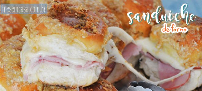 receita sanduiche forno