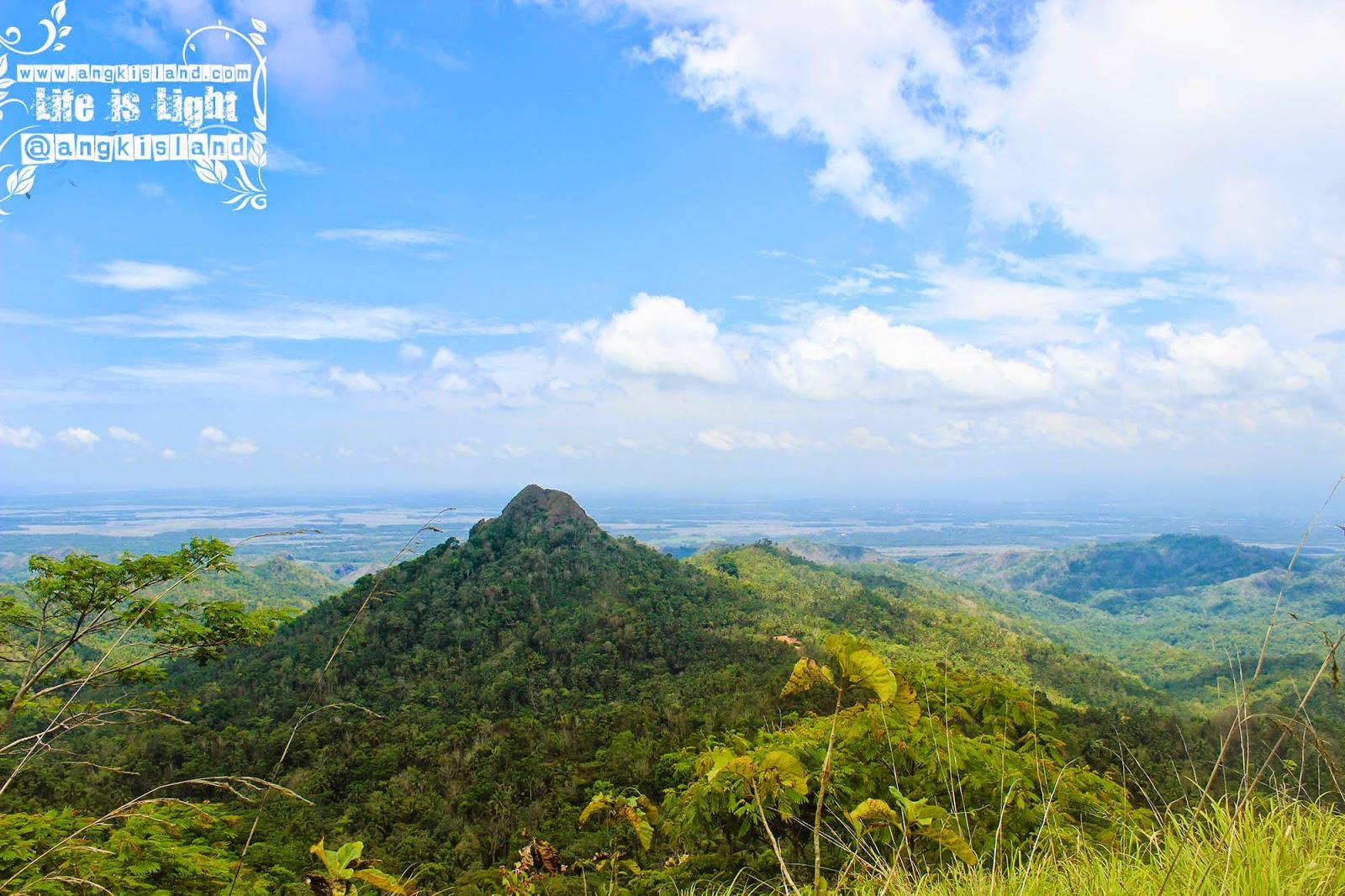 view dari gunung Ijo