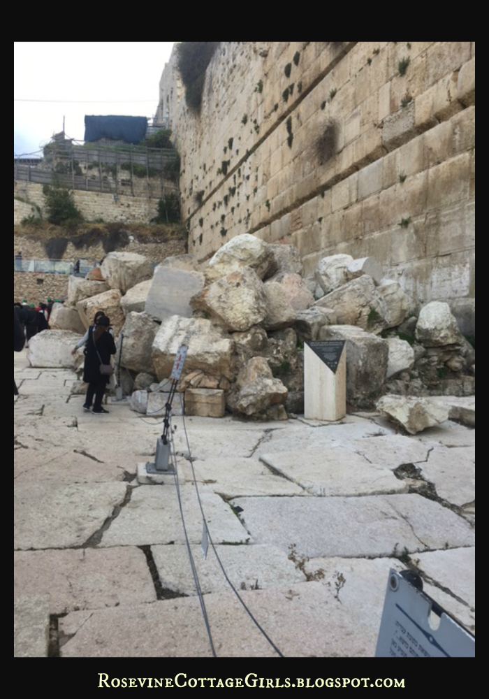 Stones from the 2nd Temple in Jerusalem - Holy Land Israel