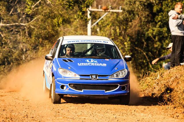 Victor Corrêa está evoluindono rally, depois do sucesso em protótipos na Europa (Foto: Edson Castro/Divulgação)