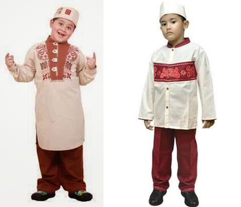 baju muslim anak anak laki laki
