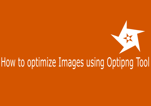 How to Optimize Image using OptiPNG Tool